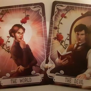 FairyLoot The Devil and The World Tarot Cards